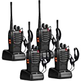 pxton Walkie Talkies Long Range for Adults with Earpieces,16 Channel Walky Talky Rechargeable Handheld Two Way Radios…