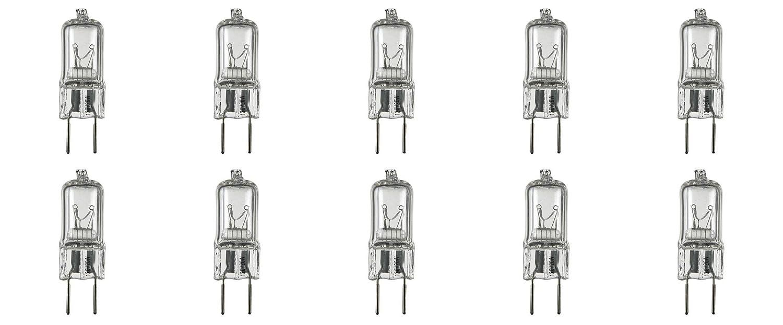 10 Pack g8 20watt 120v halogen light bulbs JCD Type 110v 130v 20w t4 G8 120 volt Puck Lamp Replacement