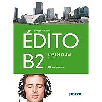 EDITO B2 ELEVE+CD+DVD - 9788490492055