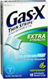Gas-X Ex Strips Pepprmnt Size 18ct Gas-X Extra Strength Peppermint Antigas