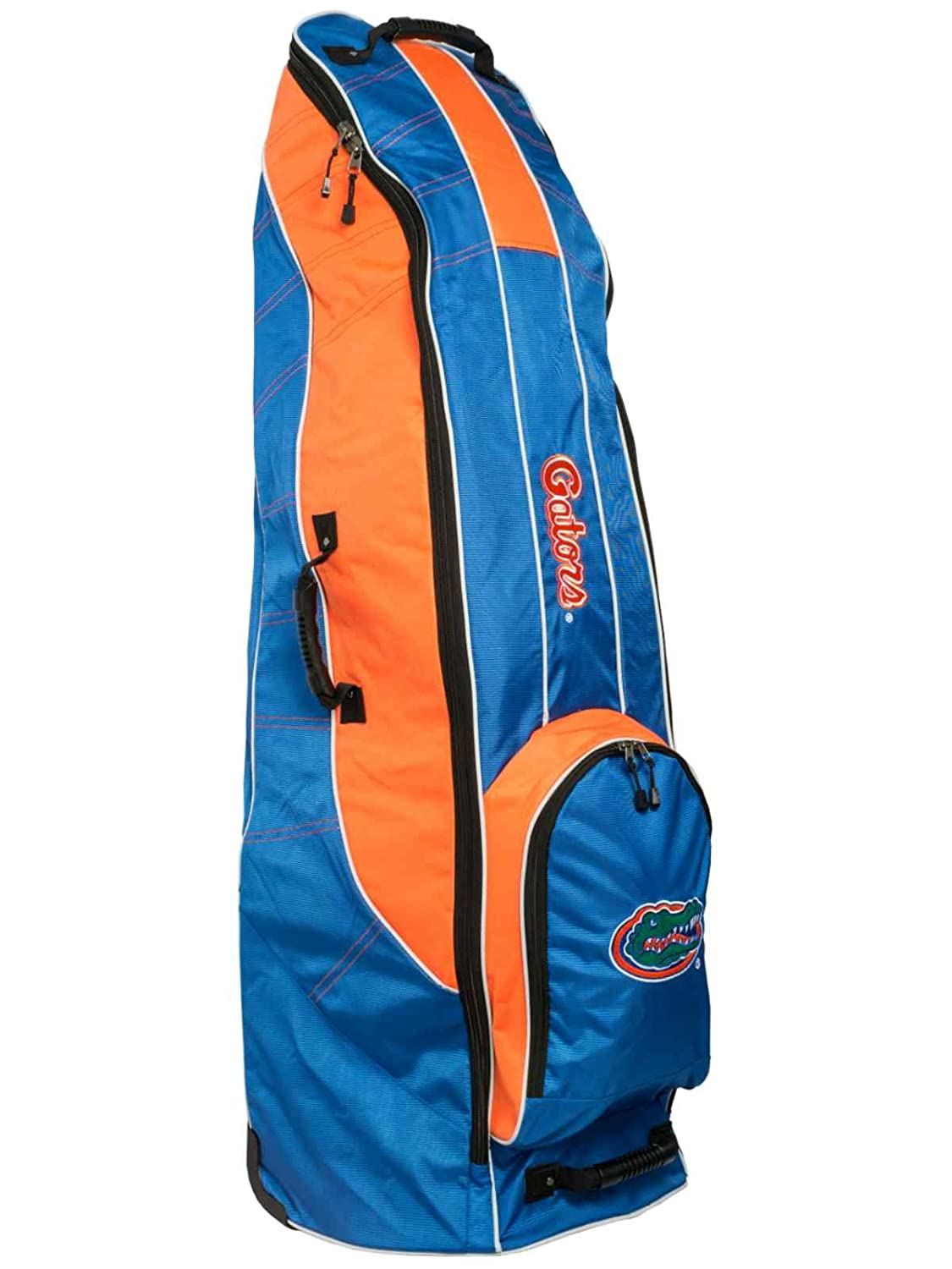 Florida GatorsチームゴルフブルーゴルフクラブWheeled Luggage Travel Bag B01MRK1B7R
