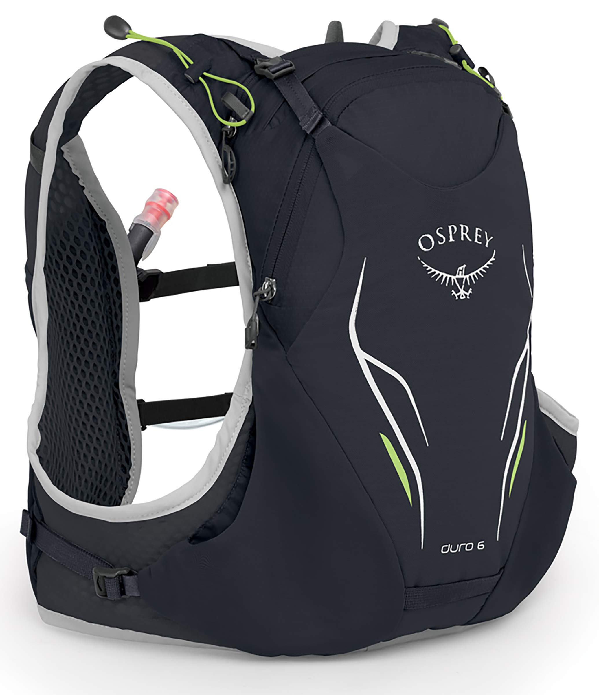 Osprey Packs Duro 6 Running Hydration Vest, Alpine Black, Small/Medium