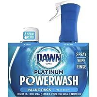 Dawn Powerwash Starter Kit, Dish Spray, Dish Detergent, Fresh Scent Bundle, 1 Spray Bottle, 1 Refill
