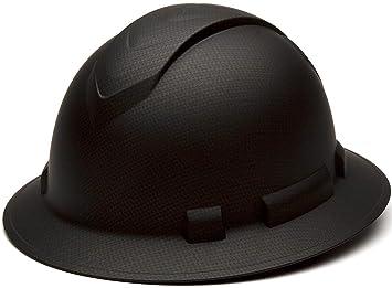 Pyramex Ridgeline Full Brim 4 Pt Ratchet Suspension Hard Hat