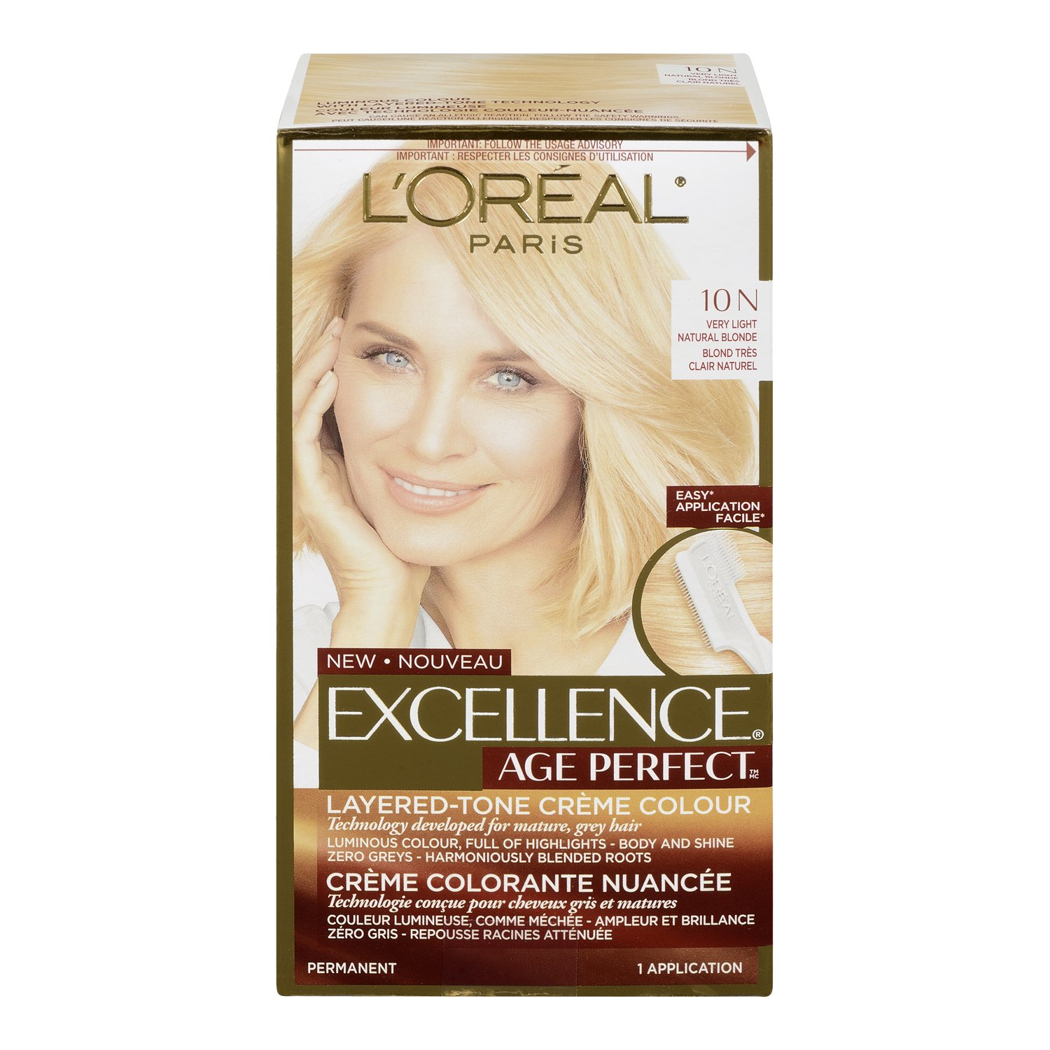 Amazon loral paris superior preference permanent hair loral paris age perfect permanent hair color 10n very light natural blonde nvjuhfo Gallery