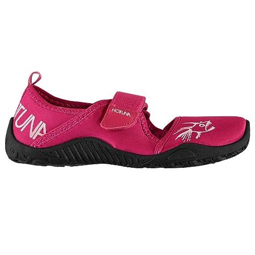 Hot Tuna Unisex niños Zapatillas para Agua Rosa/Blanco 33: Amazon.es: Zapatos y complementos