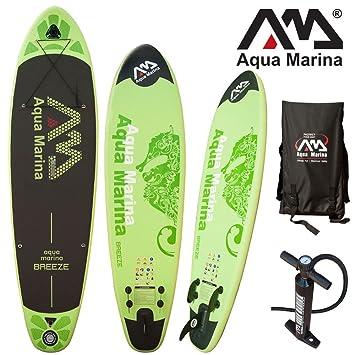 Aqua Marina, Breeze, Paddle Board Juego de s, Sup, 300 x 75 x 10 cm