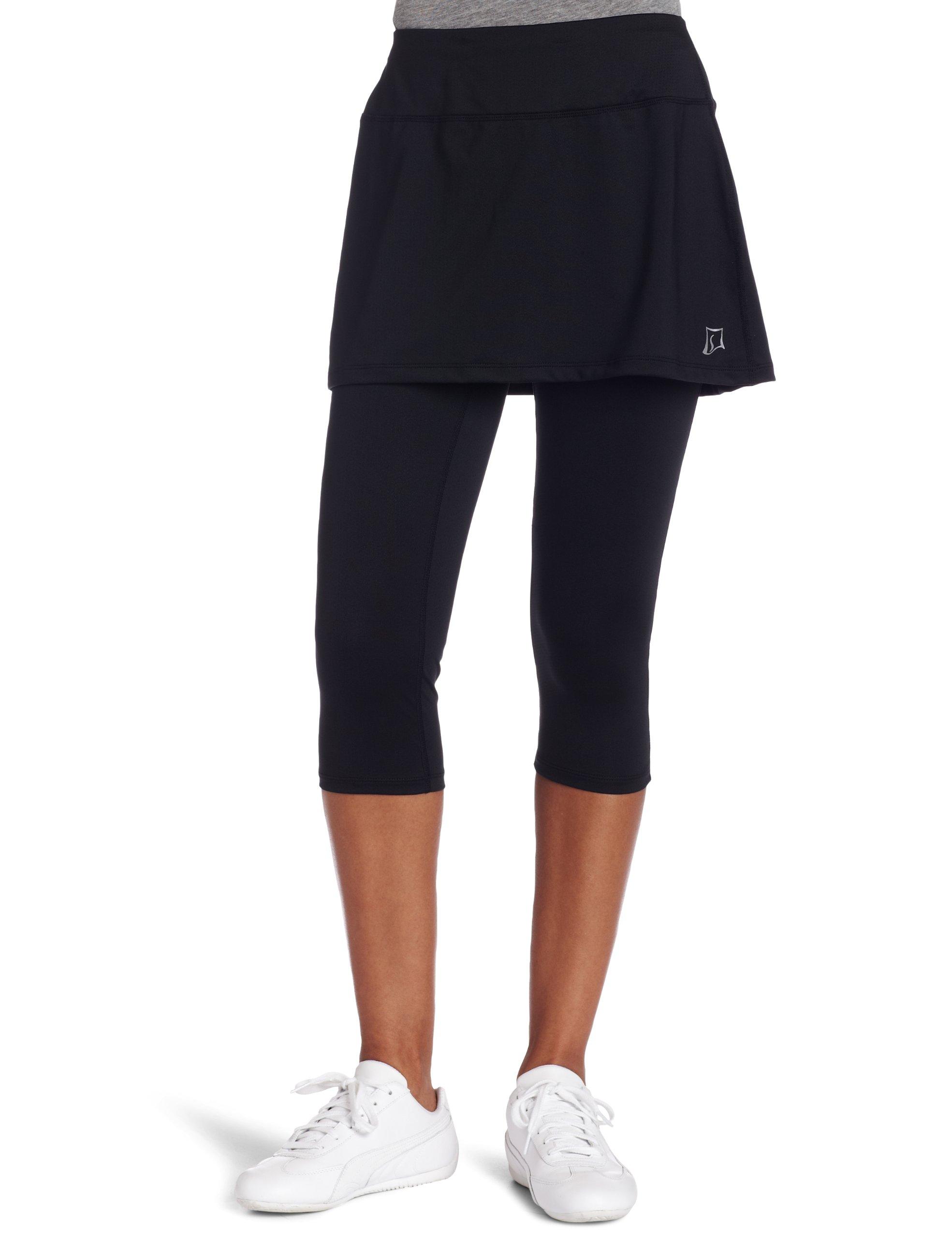Skirt Sports Women's Lotta Breeze Capri Skirt, Black, Medium