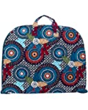 Belvah Quilted Cotton Floral Paisley Garment Bag