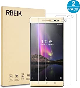 "RBEIK [2 Pack] Lenovo Phab 2 Pro Screen Protector Glass, 2.5D 9H Hardness Scratch Resistant Tempered Glass Screen Protector for Lenovo Phab 2 Pro 6.4"" Unlocked Smartphone"