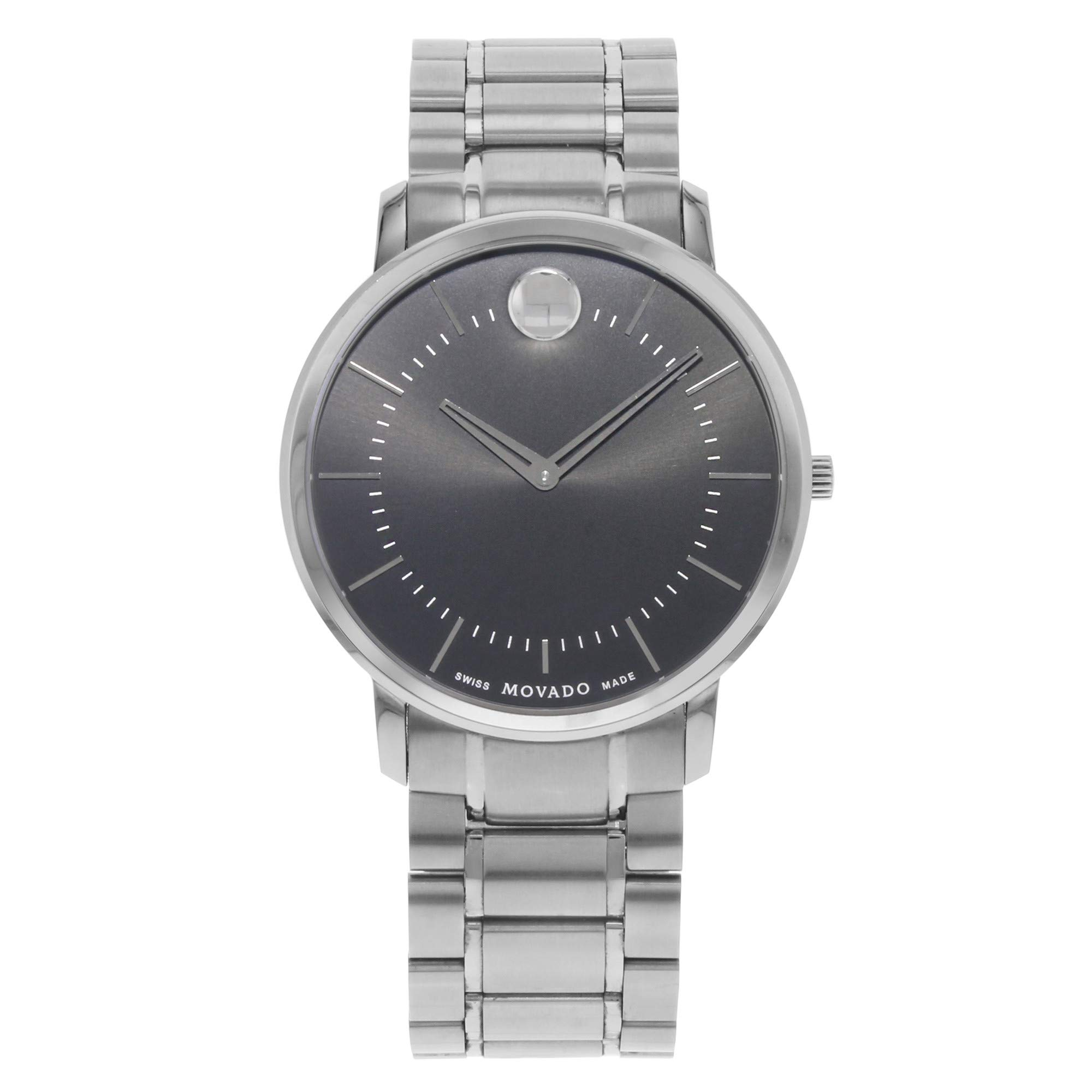 Movado Classic Quartz Male Watch 0606687 (Certified Pre-Owned)