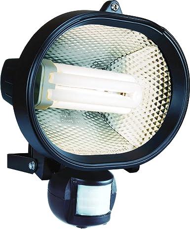 Elro ES24 - Foco fluorescente compacto de bajo consumo con sensor de movimiento, 24 W