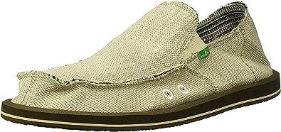 Sanuk Hemp Men's Slip-on Shoes