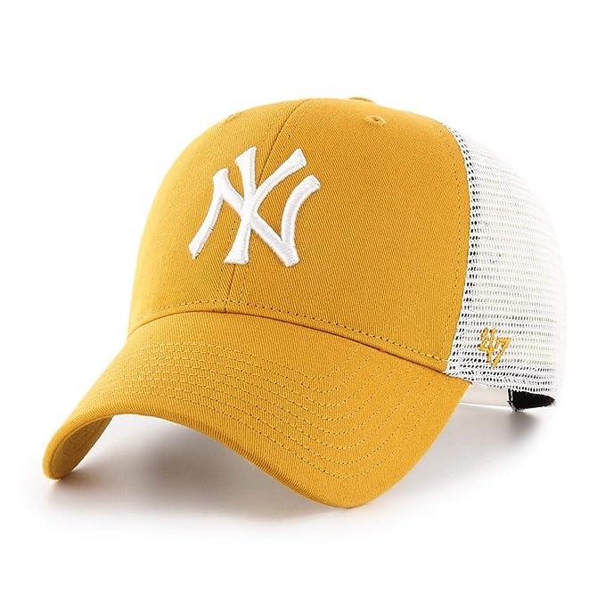 47 Brand MLB New York Yankees MVP Trucker Gorra Hombre Dorado OSFA ...