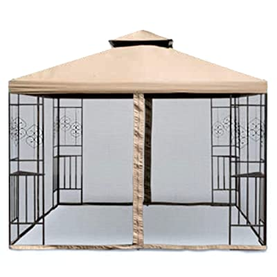 Garden Winds Replacement Canopy Top Cover for The Aldi Tulip Gazebo - Standard 350 : Garden & Outdoor