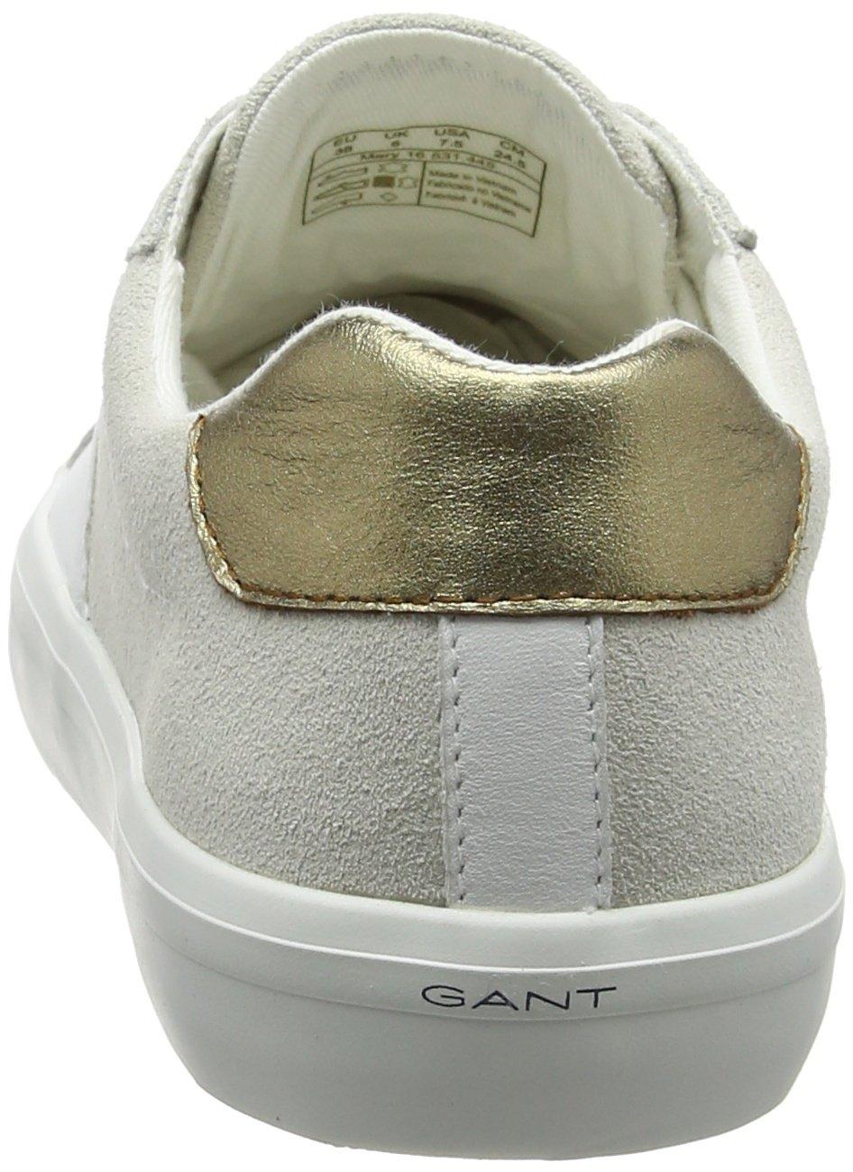 GANT Damen Mary Sneaker Mehrfarbig Wht./Cream) (Bright Wht./Cream) Mehrfarbig 1cfe4a
