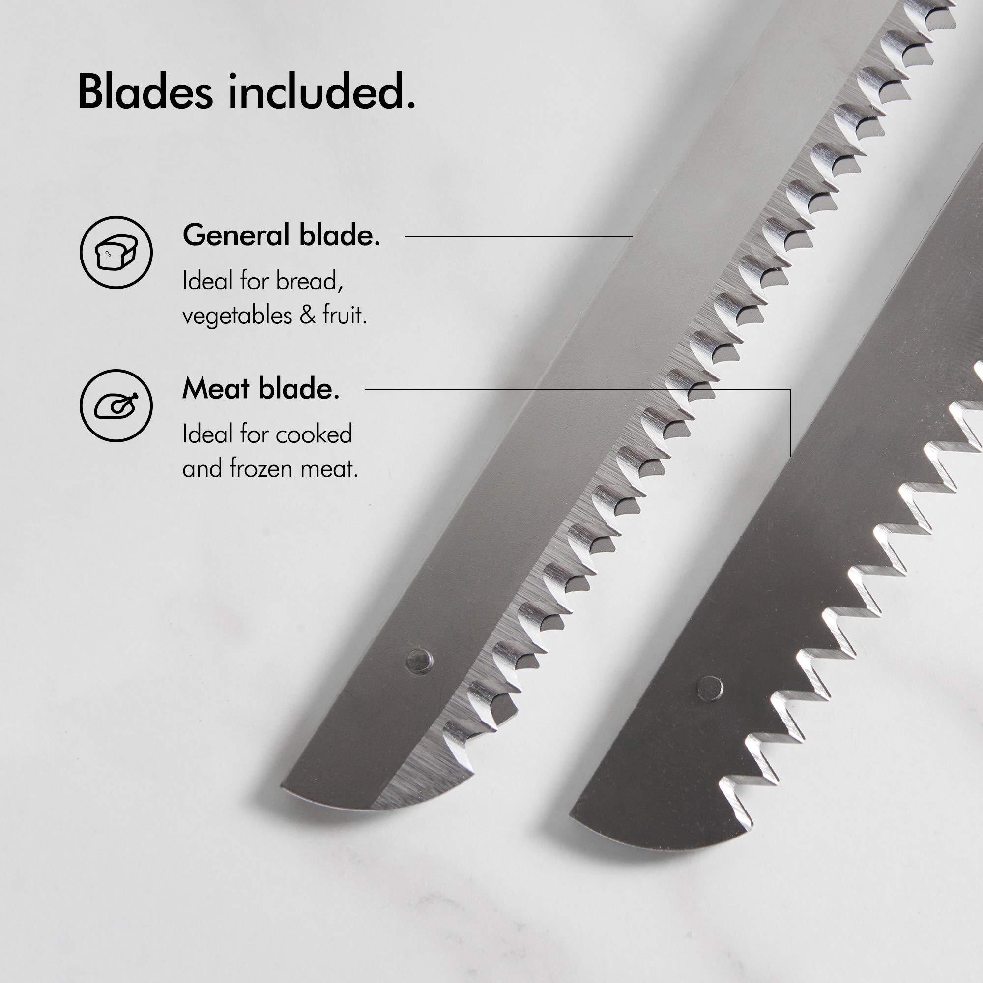 Turkey Carving Knife: VonShef Electric Knife 10 Inch
