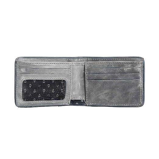 VÉLEZ 01747 Leather Bifold Wallets For Men | Cartera De Cuero De Hombre Beige at Amazon Mens Clothing store: