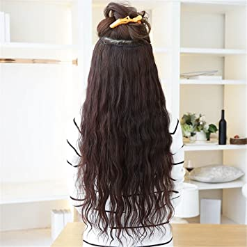 Kinky Curly hair Brown wigs Hair Extension Afro peluca for black women synthetic wig natural hair