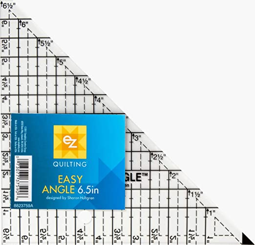 Ez Quilting Easy Angle Acrylic Template 6 5 Inch