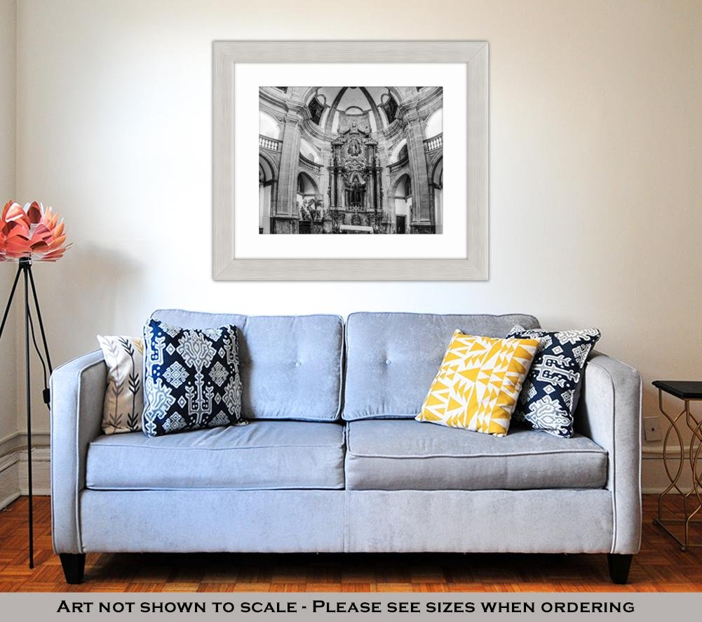 Amazon.com: Ashley Framed Prints Sant Antoni De Viana Church ...