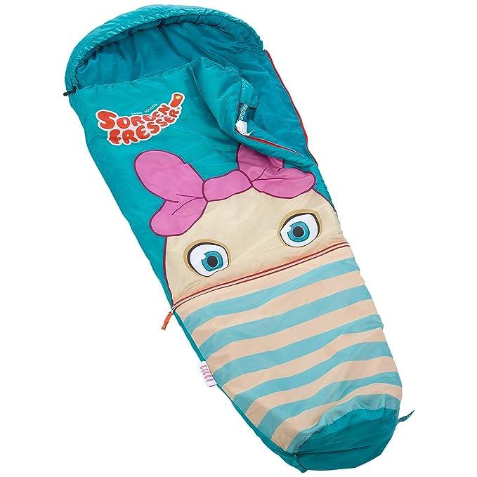 skandika Sorgenfresser - saco dormir para niños - 170 cm - -12°C (azul clarito): Amazon.es: Deportes y aire libre