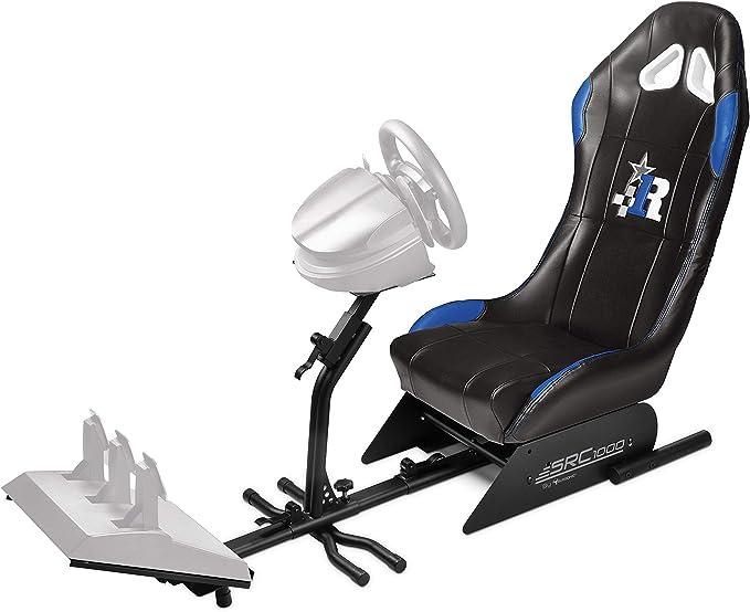 Subsonic - Asiento de carreras con soporte para volante y pedales ...
