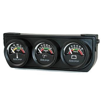 Amazon.com: Auto Meter, 2391, consola de calibradores ...