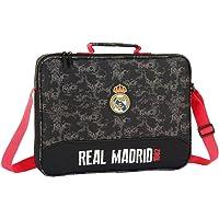 Safta Real Madrid - Cartera Extraescolares, Negro, 38
