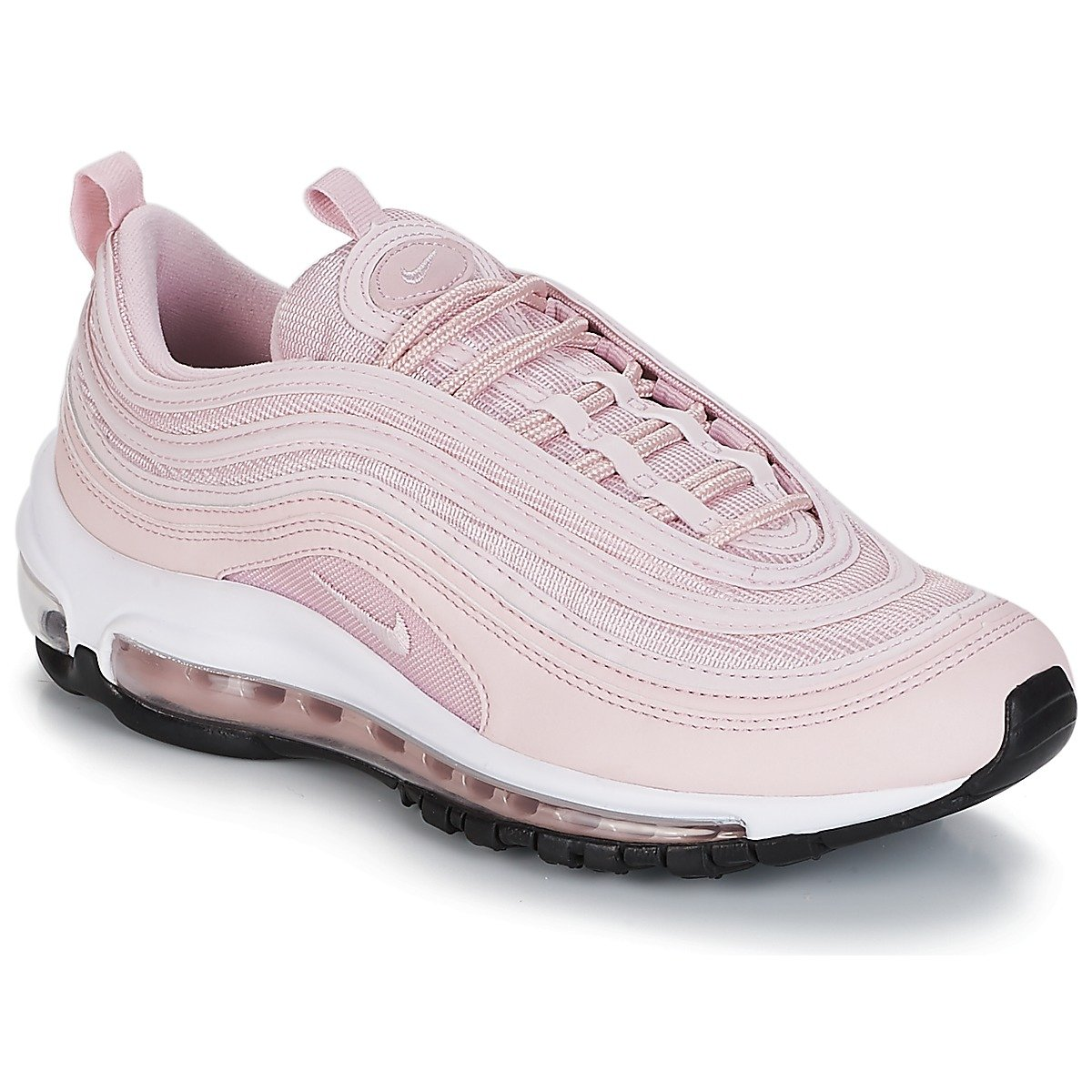4813faec0af Nike W AIR MAX 97 Women s Sneaker Shoes in Pink Leather 921733-600   Amazon.co.uk  Shoes   Bags