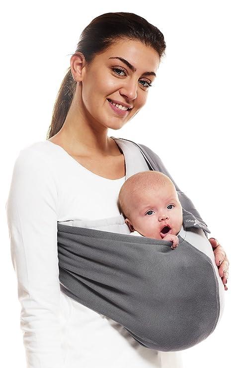 aac1ae2f8cd Wallaboo - Porte bébé Connection - Ergonomique de la naissance à 36 mois -  Le porte-bébé sling à poche pratique et facile à installer  Amazon.fr  Bébés    ...