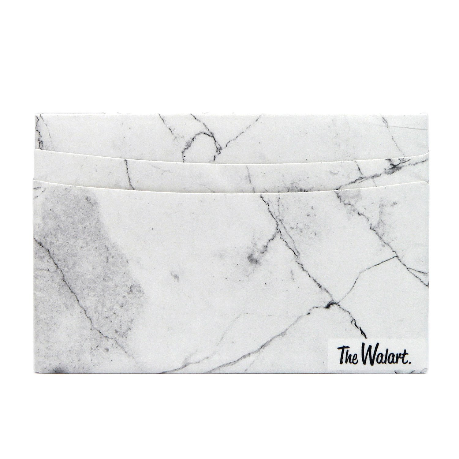 The White Marble Card Paper Wallet - Slim - The Walart - Mighty Tyvek Dynomighty