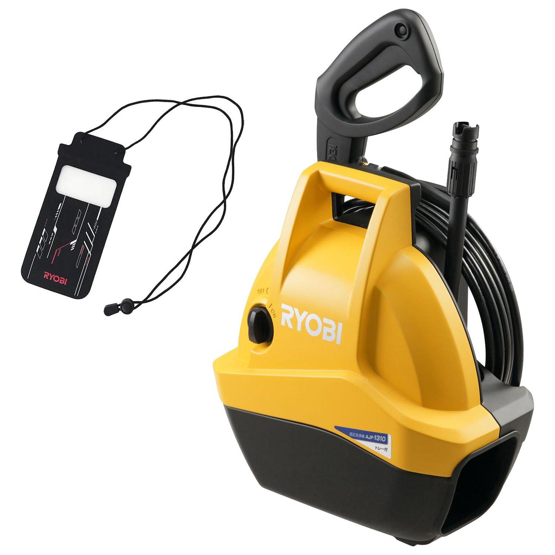 リョービ(RYOBI) 高圧洗浄機AJP-1310F オリジナル防水型スマートフォンケース付 4989775 product image