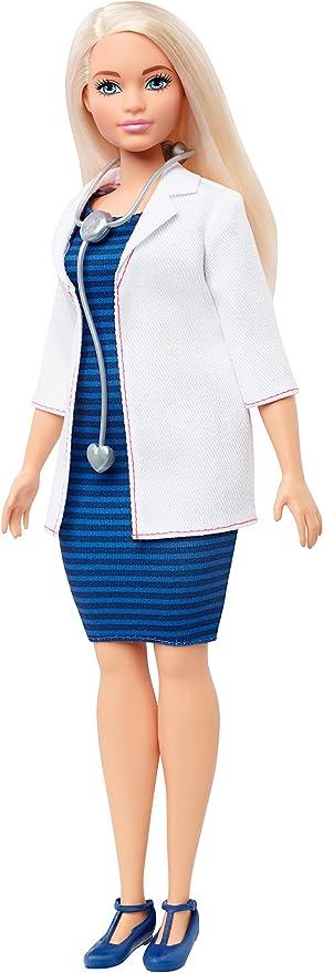 Oferta amazon: Barbie Quiero Ser Doctora, muñeca con accesorios (Mattel FXP00) , color/modelo surtido