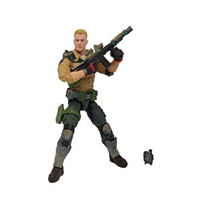 Hasbro G.I. Joe Classified Series Duke Action Figure Collectible 04 Premium Toy with Multiple Accessories 6-Inch Scale with Custom Package Art: Toys & Games