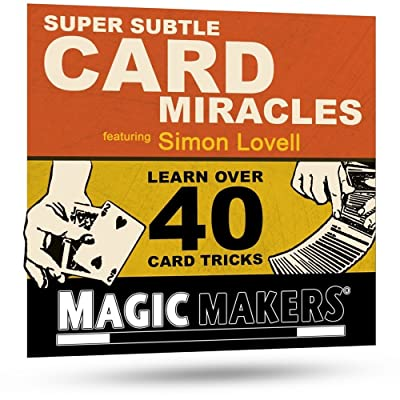 Magic Makers Super Subtle Card Miracles Featuring Simon Lovell - Learn Over 40 Amazing Card Tricks: Toys & Games