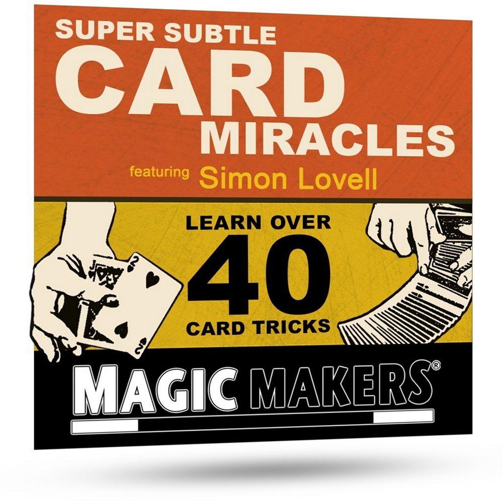 Magic Makers Super Subtle Card Miracles - 40 Amazing Card Tricks