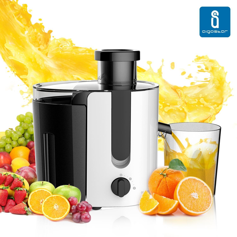 Aigostar Grape JDA – Licuadora para frutas y verduras W motor de