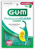 Sunstar 889DA GUM Professional Clean Flosser with a Fresh Mint Flavor (Pack of 150)