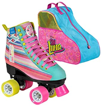Disney SOY Luna LTD Edition Rollschuh INKL. Skate Bag: Amazon.es: Deportes y aire libre