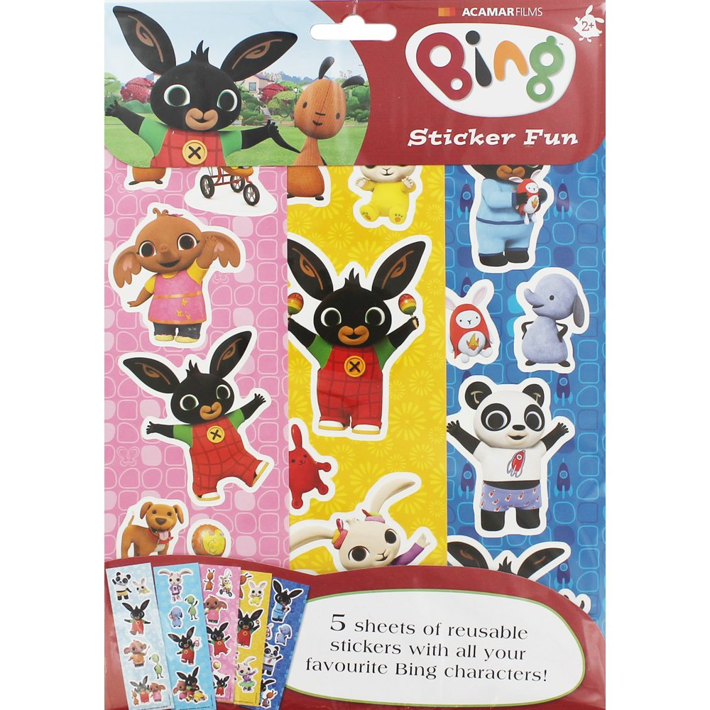 Pegatinas Sticker Fun de Bing Alligator Products Ltd