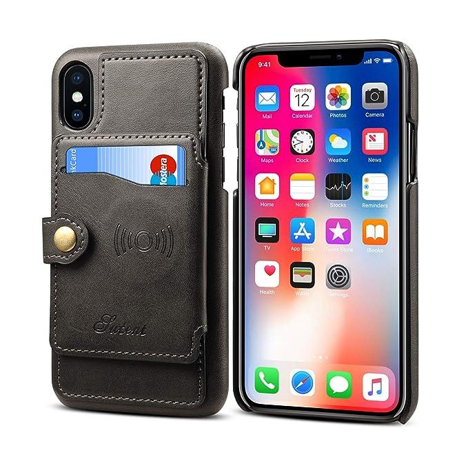 best service fa029 1f3c2 Amazon.com: Wallet Case for iPhone Xs Max iPhone Xs Max Wallet Case ...