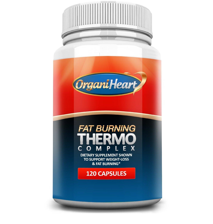 organiheart fat burning thermogenic 120 capsules