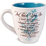 Lighthouse Christian Products In Christ Woman Growing Heart Ceramic Mug, 14 oz
