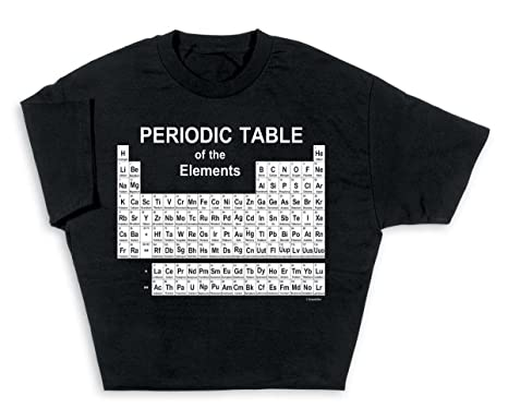 Amazon Computergear Periodic Table Of Elements Science Geek T