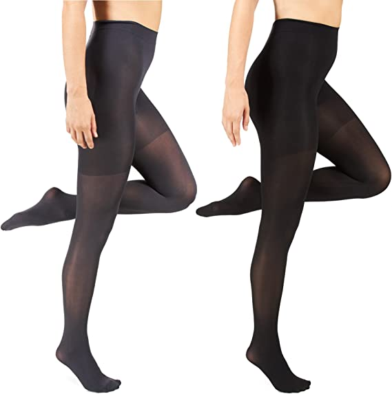 Silkies Barely Black Extra Large Control Top Tights