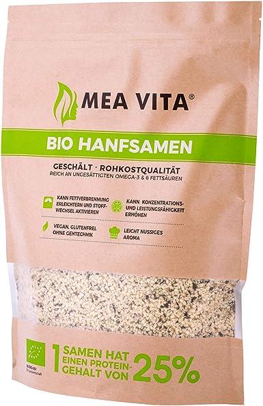Meavita Semillas De Chia, Paquete De 2 (2 X 1000 g) 2000 g: Amazon ...