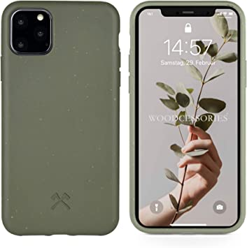 Woodcessories - Funda Bio Compatible con iPhone 11 Pro MAX: Amazon ...