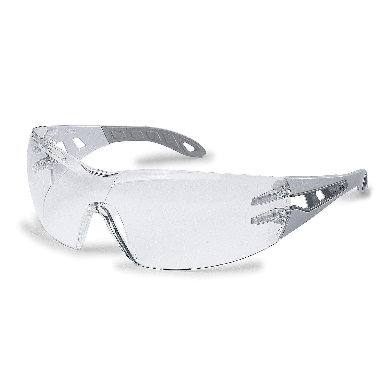Uvex - Occhiali protettivi trasparenti, protezione dai raggi UV 100%, conformi agli standard EN 166 + EN 170 9192215