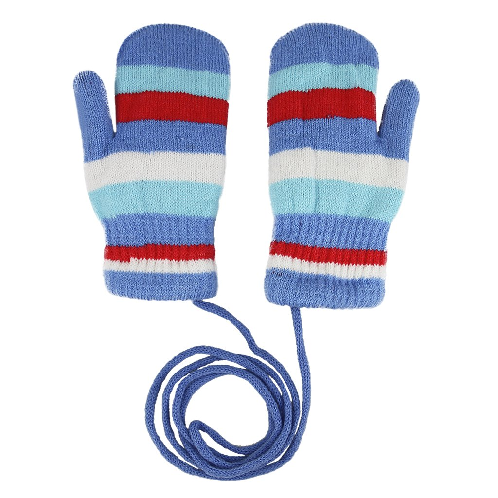 797af353b Cute Cartoon Animal Rabbit Toddler Kids Girls Boys Knit Wool Crochet Warm  Thicken Fleece Lined Winter Gloves with String Children Baby Outdoor  Windproof Ski ...